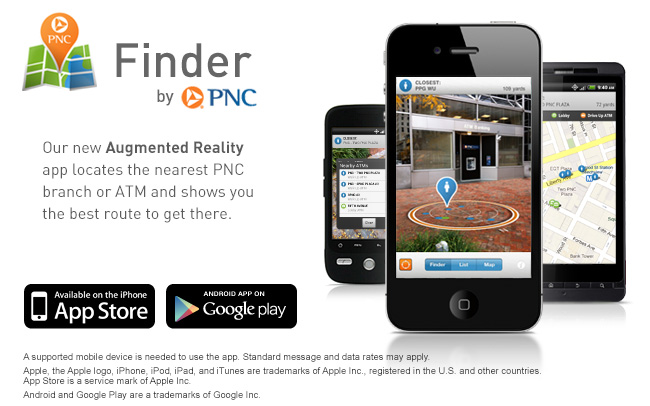 Finder by PNC landing page image